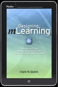 Designing mLearning book