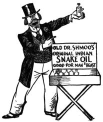 Dr Shmoos snake oil