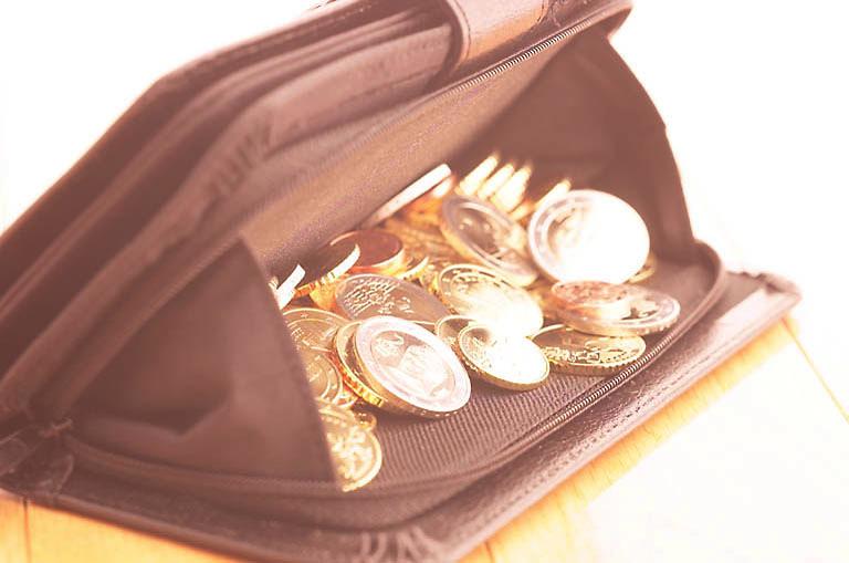 a change purse