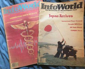 Old Infoworld magazines